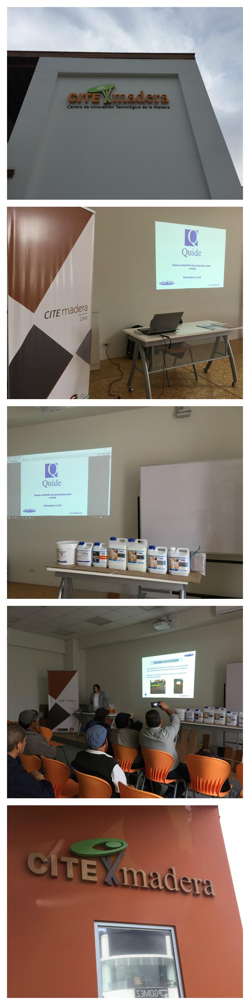 Fotos seminario en Lima