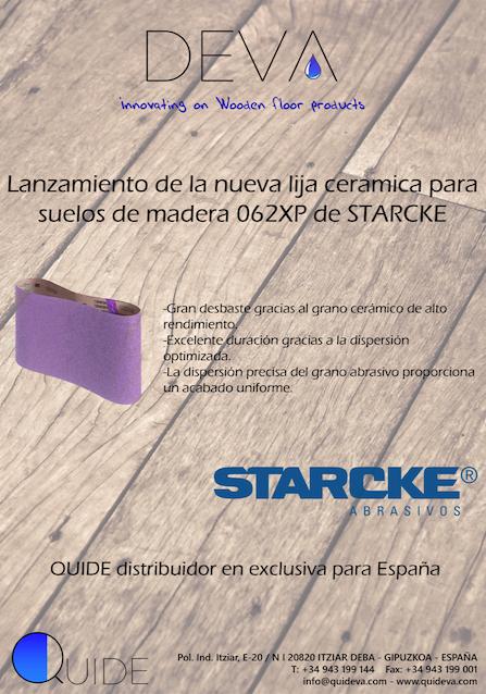 Portada de lija de cerámica Starcke