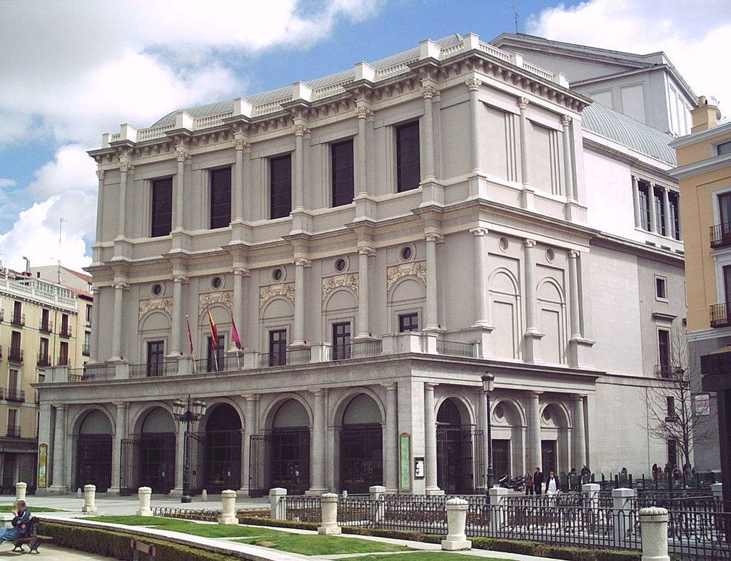 Edificio Teatro Real de Madrid