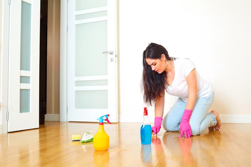 Consigue un parquet limpio en sencillos pasos