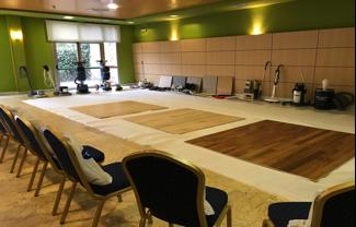 Sala de formación en Asturias